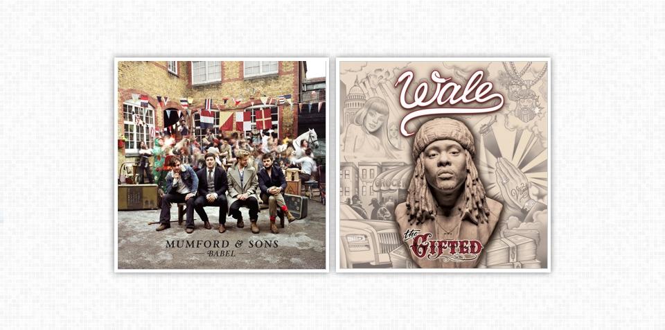 英美专辑榜 2013/07/13 Official UK - Mumford & Sons [Babel];Billboard 200 - Wale [The Gifted]